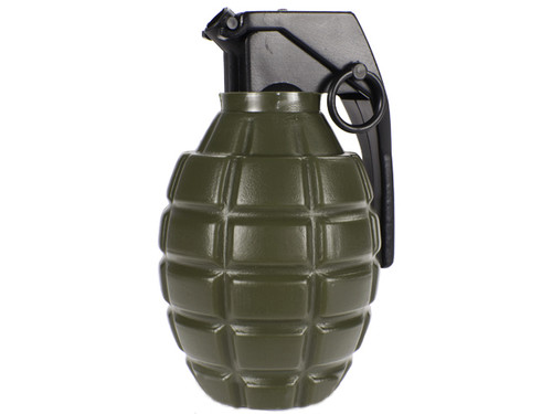 Airsoft Grenade Shape Loader Bottle with 800 0.20g Airsoft 6mm bbs