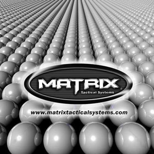 Matrix 0.20g Match Grade 6mm Airsoft BB - 1000/ Black