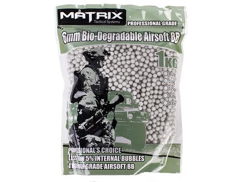 0.30g Match Grade Bio-Degradable 6mm Airsoft BB - 1KG