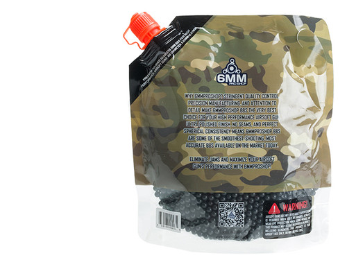 6mmProShop Pro-Series 6mm Premium High Grade Precision Airsoft BBs - 0.23g Black (3000)