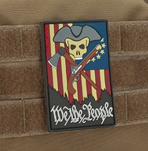 "MoeGuns ""We the People"" PVC - Morale Patch"