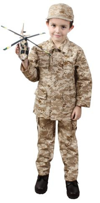 Junior G.I. Military B.D.U. Shirt - Desert Digital