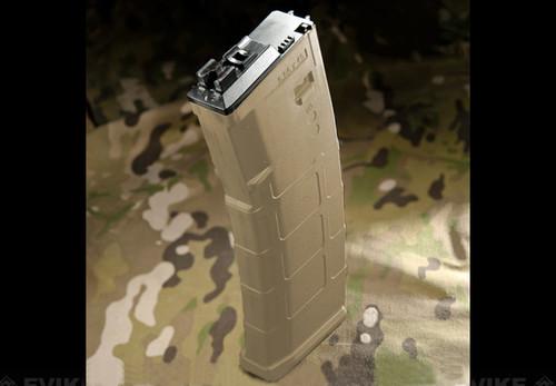 WE-Tech Magazine for MSK Series Airsoft GBB Rifles - Dark Earth