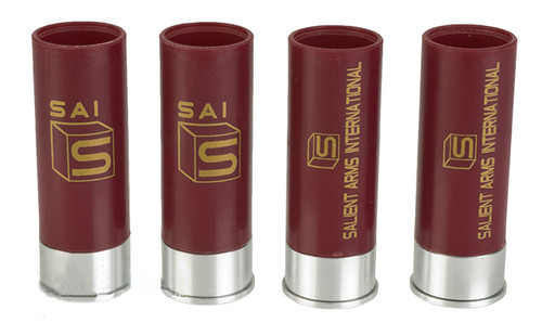EMGSAI CO2 Shotgun Shells for Salient ArmsAPS CAM870 Shell Ejecting Airsoft Shotguns w Salient Arms Logo - Set of 4