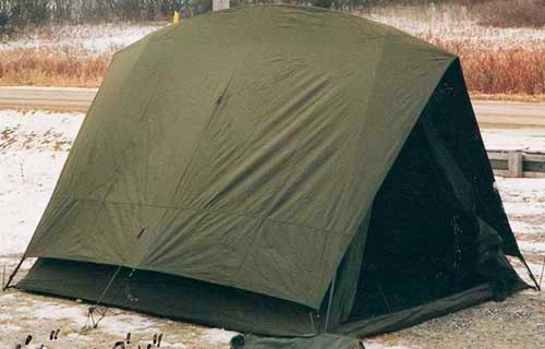 Canadian Armed Forces 4 Man Tanker Crew Tent & Buy Military Tents Online Canada | HeroOutdoors.com