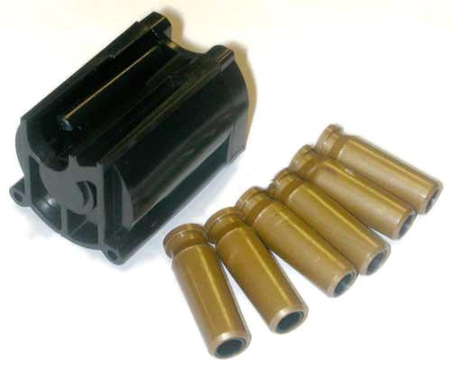 Spare Rotary Magazine for TSD  UHC Super9  SuperX-9 Airsoft Sniper Rifle w 5 Shells
