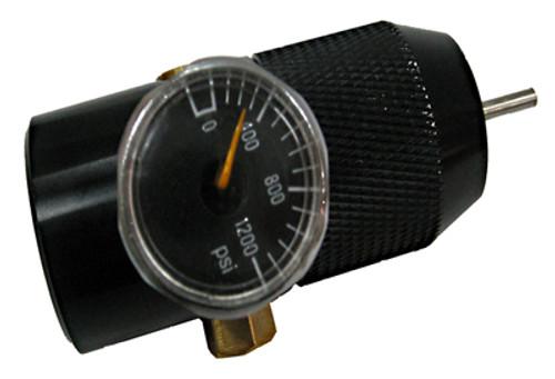 Thunder CO2 Cylinder Adapter with Pressure Meter Regulator