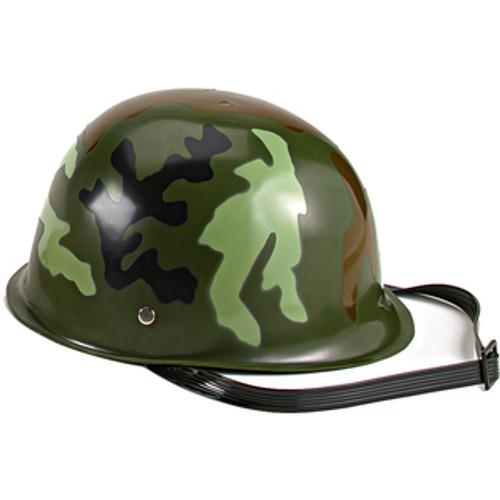 Kid's Army Helmet - Woodland Camo