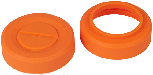 Spare Caps for Gen2 Airsoft Thunder-B Sound Grenade Shells - Orange