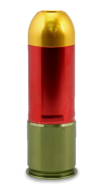 """S-Thunder """"Loudest"""" Multi-Purpose 40mm Airsoft / Paintball Gas Grenade - Long Type (One)"""
