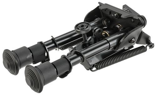 """VFC Duty 4"""" Retractable Harris Type Bipod w/ Swivel Lock"""