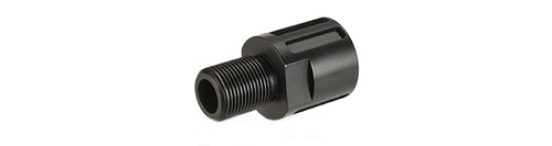 ASG / CZ 18mm to 14mm Muzzle Adaptor for Scorpion EVO 3 - A1 - Black