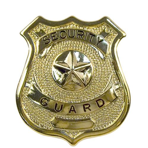 Badge - Gold Security Guard