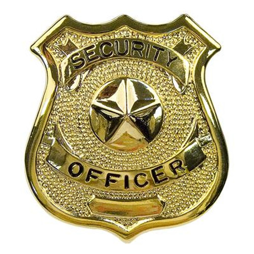 Badge - Gold Security Officer
