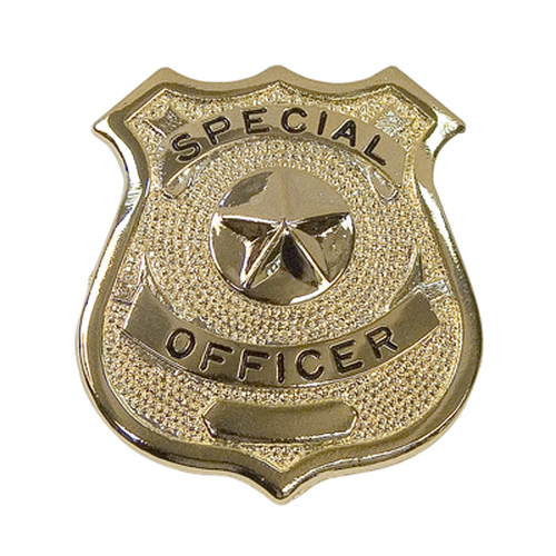 Badge - Gold Special Officer