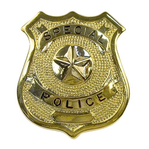 Badge - Gold Special Police