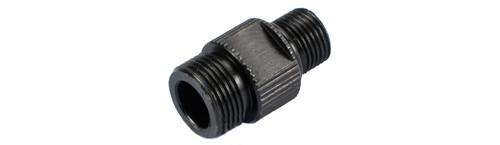 Matrix Aluminum 11mm Positive to 14mm Negative Airsoft Thread Adapter