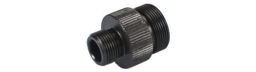 Matrix Aluminum 20mm Positive to 14mm Negative Airsoft Thread Adapter