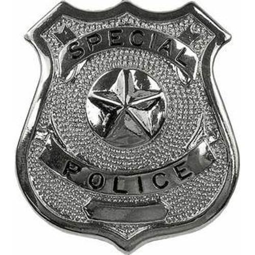 Badge - Nickel Special Police