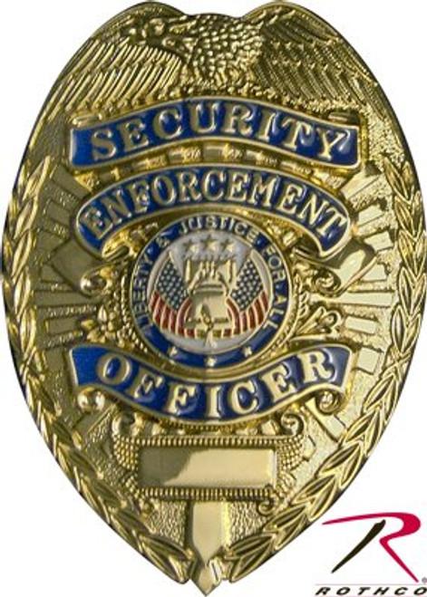 Badge - Security Enforcement Officer - Gold