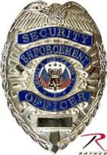 Badge - Security Enforcement Officer - Silver