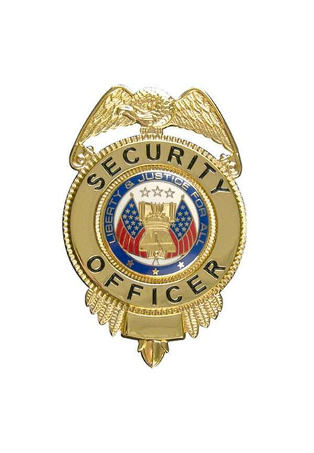 Badge - Security Officer - Gold