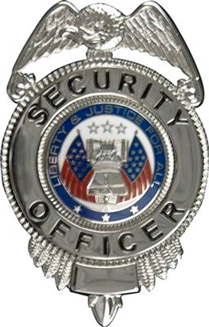 Badge - Security Officer - Silver
