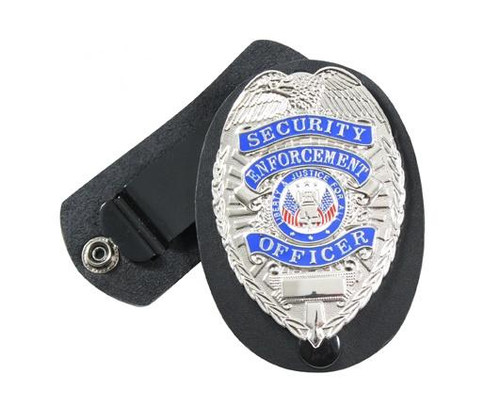 Holder - Leather Clip-On w/Swivel Snap