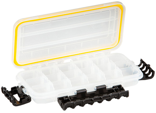 Plano Waterproof Stowaway-« Clear Storage Utility 3500 Size Divided Box - 3 to 18 Compartment