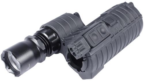 Element M4 e500 Tactical Handguard Illuminator w/ Integrated Dual LED for Airsoft - Black
