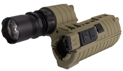 Element M4 e500 Tactical Handguard Illuminator w/ Integrated Dual LED for Airsoft - Tan
