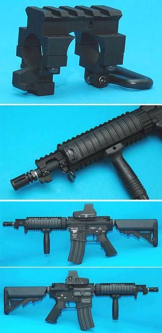 G&P Rail gas Block for M4 M16 Series Airsoft Rifles