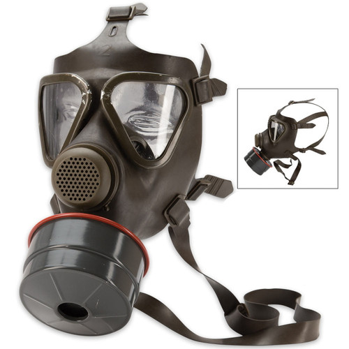 German M-65 Gas Mask w/Filter
