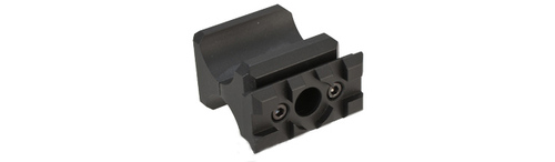 APS Co2 Shotgun Picatinny Railed Barrel Spacer w/ QD Sling Adapter for CAM870 Shell Ejecting Airsoft Shotguns