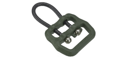 "Blue Force Gear Molded Universal Wire Loop for 1"" and Smaller Slings - OD Green"