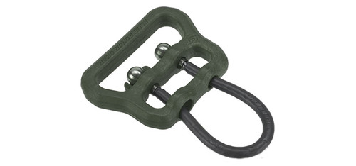 "Blue Force Gear Molded Universal Wire Loop for 1.25"" and Larger Slings - OD Green"