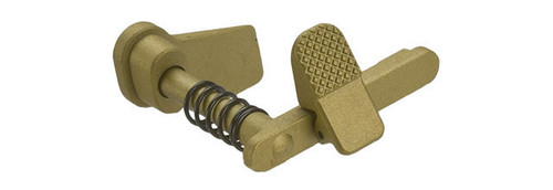 APS Ambidextrous Magazine Release for M4/M16 Series Airsoft AEGs - Gold
