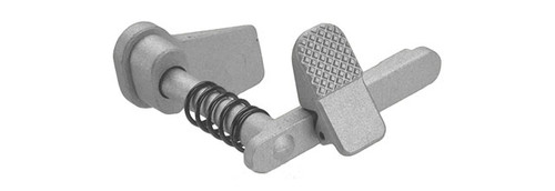 APS Ambidextrous Magazine Release for M4/M16 Series Airsoft AEGs - Silver