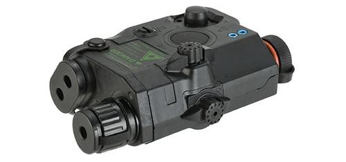 Matrix Mock Modular PEQ15 LA-5 Green Laser Pointer Device - Black