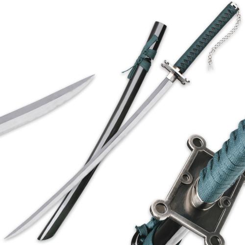 Green Warrior Samurai Sword