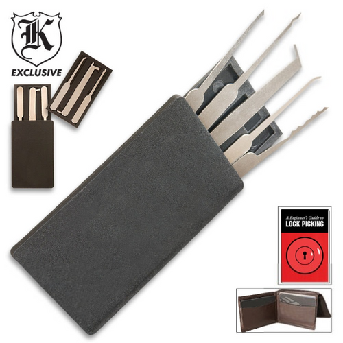 Secure Pro Credit Card Lock Pick Set