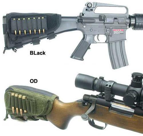 Guarder Ammo Cheek Pad for Rifle/Shotgun (Black)