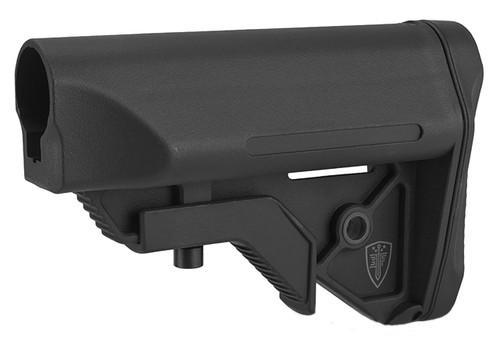 Elite Force Next-Gen CQB/CQC Crane Stock for Airsoft Rifles - Black (Commercial Spec.)