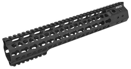 "G&P MOTS 12.5"" Keymod Rail System for G&P M4 / M16 Gas Blowback Airsoft Rifles - Black"