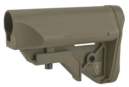 Elite Force Next-Gen CQB/CQC Crane Stock for Airsoft Rifles - Dark Earth (Commercial Spec.)