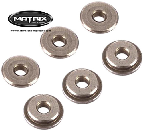 Matrix 8mm Oilness steel cnc bushing for 8mm Airsoft AEG Gearboxes (For All Level Gear Sets)