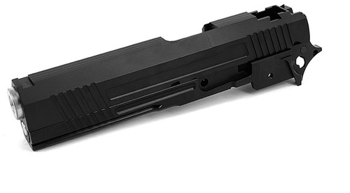 """Airsoft Masterpiece """"Two-Two"""" Standard Slide and Frame Kit for Tokyo Marui Hi-CAPA - Black"""