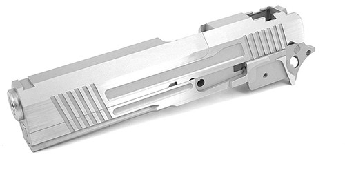 """Airsoft Masterpiece """"Two-Two"""" Standard Slide and Frame Kit for Tokyo Marui Hi-CAPA - Silver"""