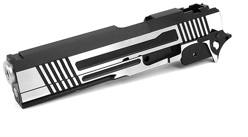 """Airsoft Masterpiece """"Two-Two"""" Standard Slide and Frame Kit for Tokyo Marui Hi-CAPA - Two-Tone"""
