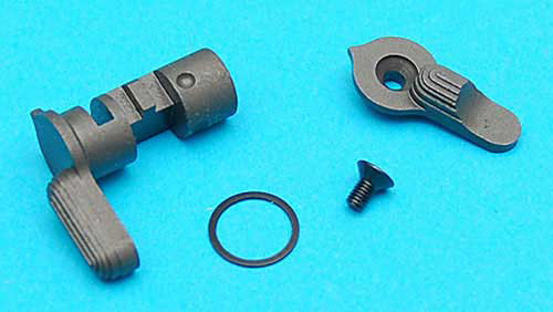 G&P CNC Steel Ambidextrous Selector Switch for WA King Arms G&P WOC M4 Gas Blowback Rifles